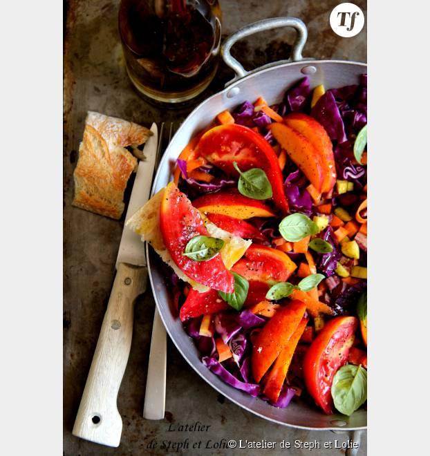 La salade sucrée salée de Steph et Lolie