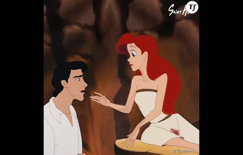Ariel, Eric et la fuite