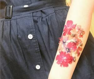 Tatouage Derriere L Oreille Fleur Terrafemina