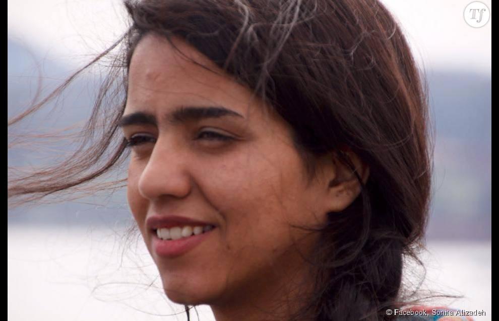 """Sonita Alizadeh est devenue une star sur Youtube, grâce à son tube """"Brides for sale""""."""