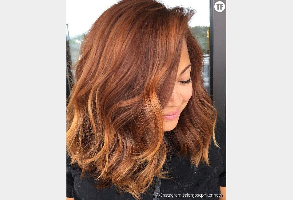 Le  Pumpkin Spice Hair, la couleur rousse tendance de l'automne-hiver 2015