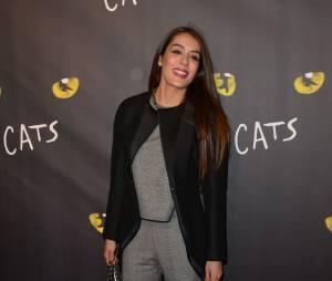 """Sofia Essaïdi - Première de la comédie musicale """"Cats"""" au théâtre Mogador à Paris, le 1er octobre 2015."""