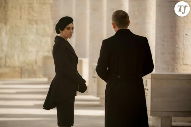 """Monica Bellucci et Daniel Craig dans """"007 Spectre"""""""