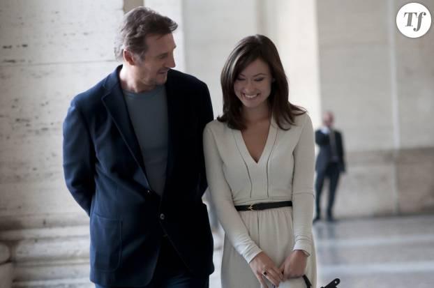 "Liam Neeson et Olivia Wilde dans le film ""Puzzle"""
