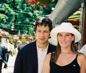 Roland Garros 1999 Laurent Gerra en couple avec Mathilde Seigner