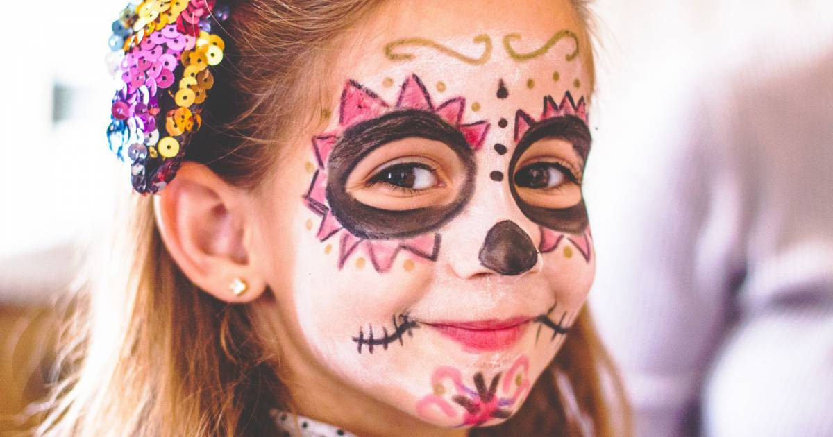 Maquillage halloween enfant garcon fille accueil design et mobilier - Image maquillage halloween ...