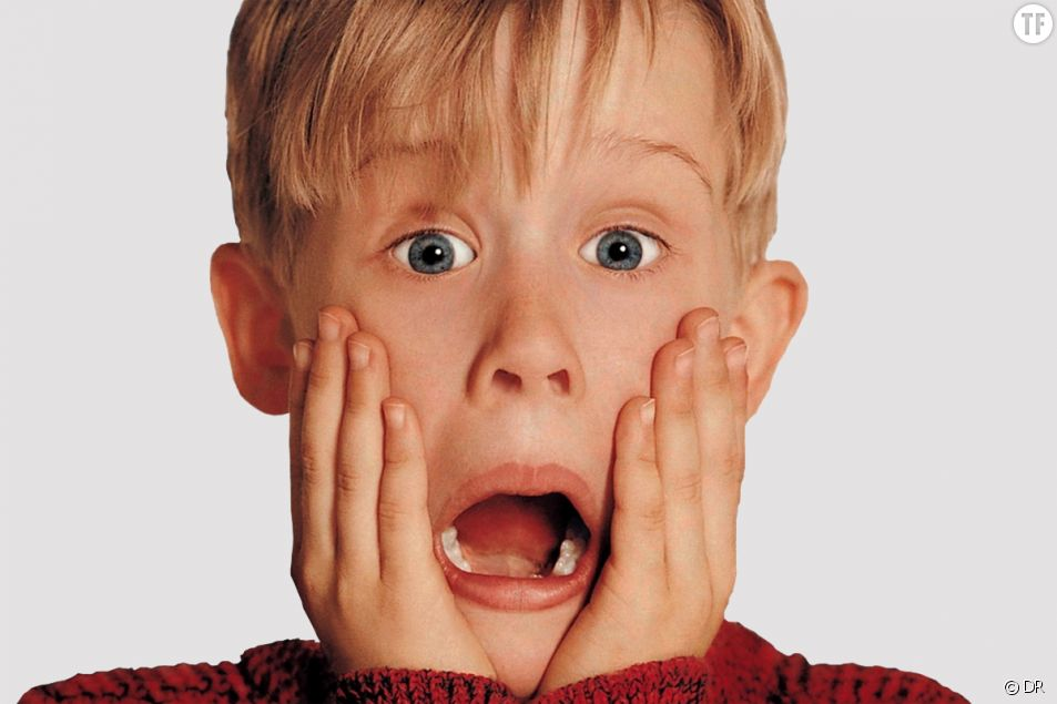 "Macaulay Culkin dans ""Allo Maman j'ai raté l'avion"""