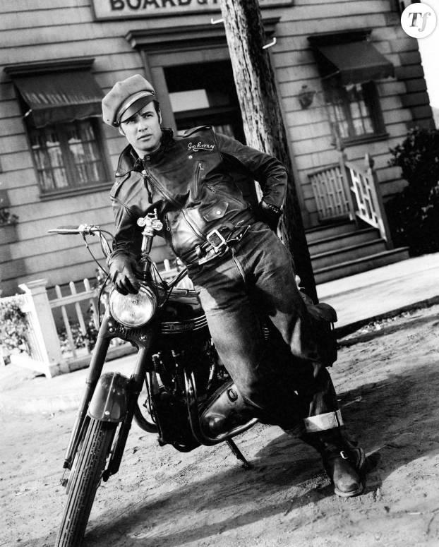 """Marlon Brando dans le film """"L'équipée sauvage"""""""