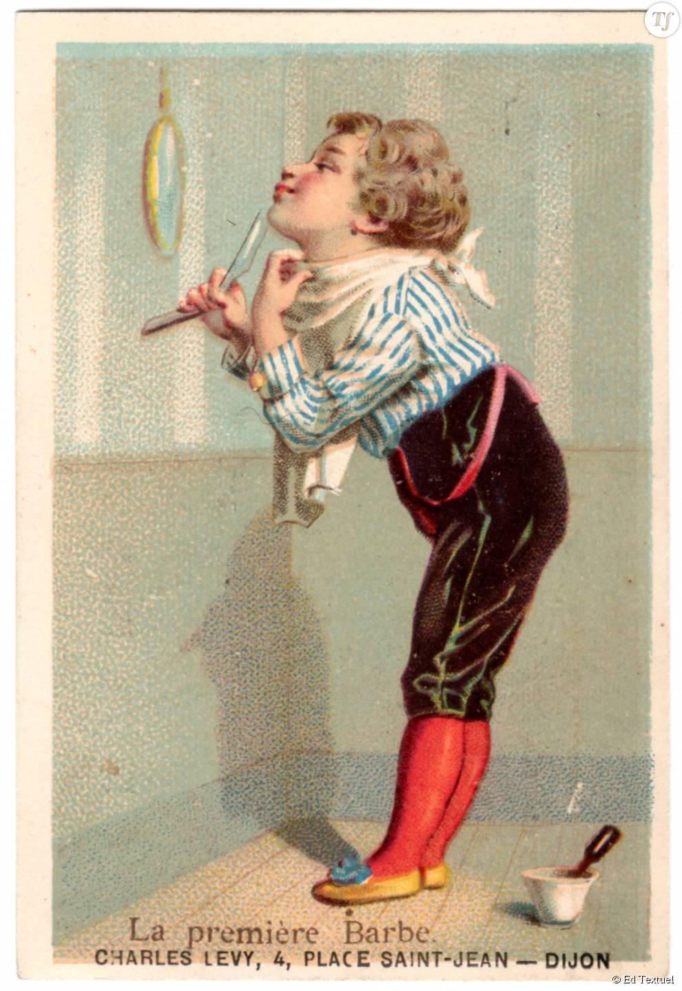 Publicité datant du XIXe siècle