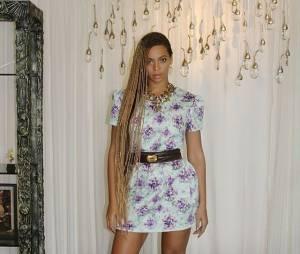 Beyoncé et ses box braids
