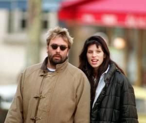Maïwenn et son ex-mari Luc Besson en 1992