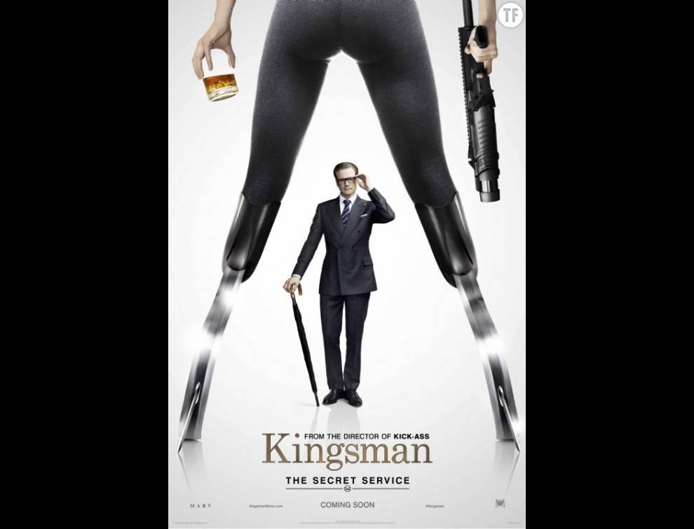 L'affiche du film Kingsman