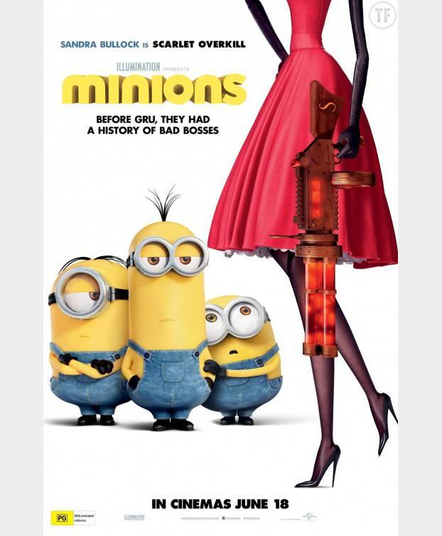 L'affiche des Minions est-elle sexiste ?