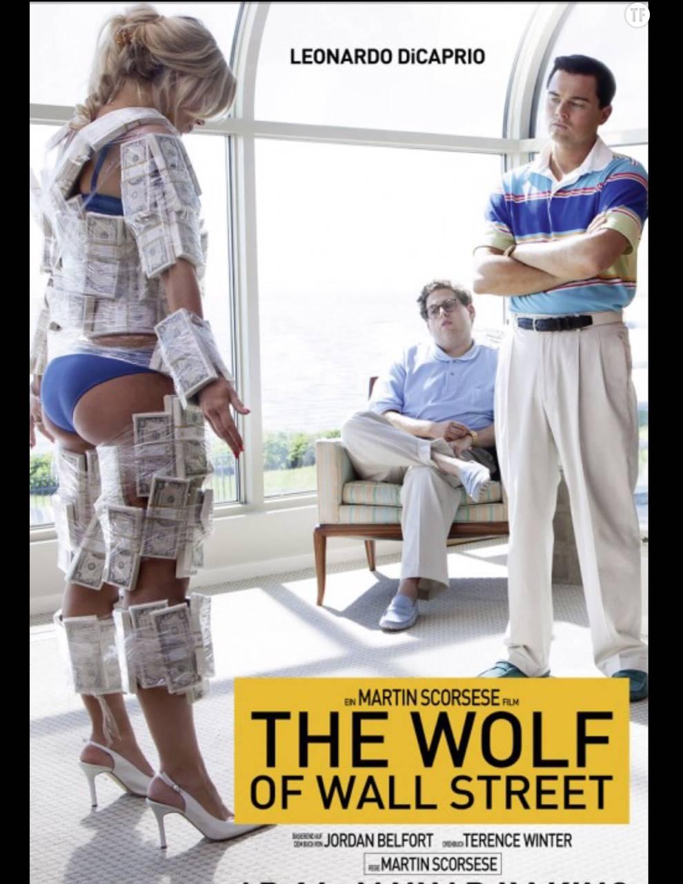L'affiche du Loup de Wall Street