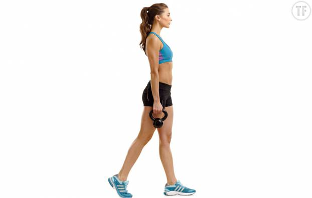 la marche à poids