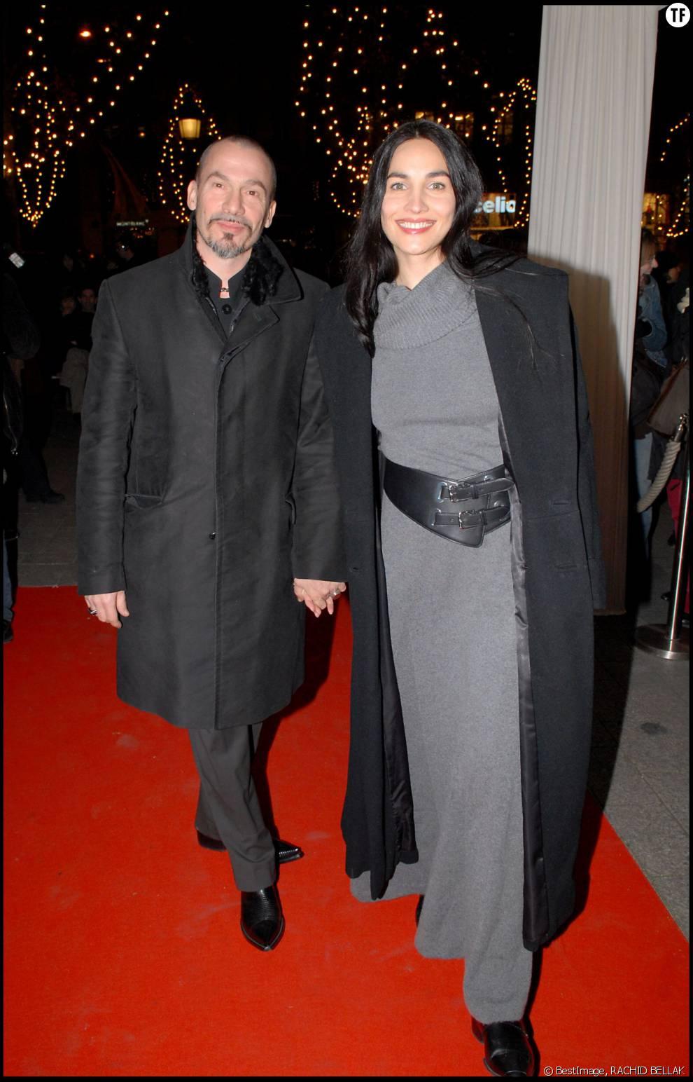 Florent Pagny et son épouse Azucena en 2006
