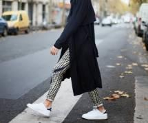 5 idées cools pour porter un pantalon et des baskets au bureau