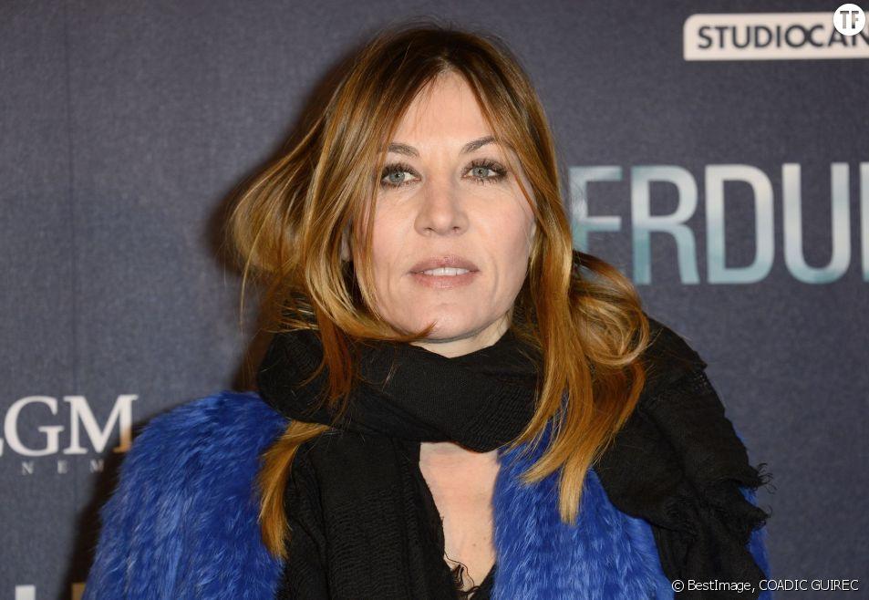 L'actrice Mathilde Seigner