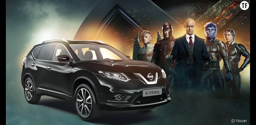 Concours pour gagner une journée en famille avec  Nissan X-TRAIL et X-Men