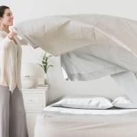 l 39 incroyable technique pour enfiler sa housse de couette en moins d 39 une minute. Black Bedroom Furniture Sets. Home Design Ideas