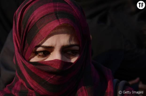 Une jeune survivante yézidie