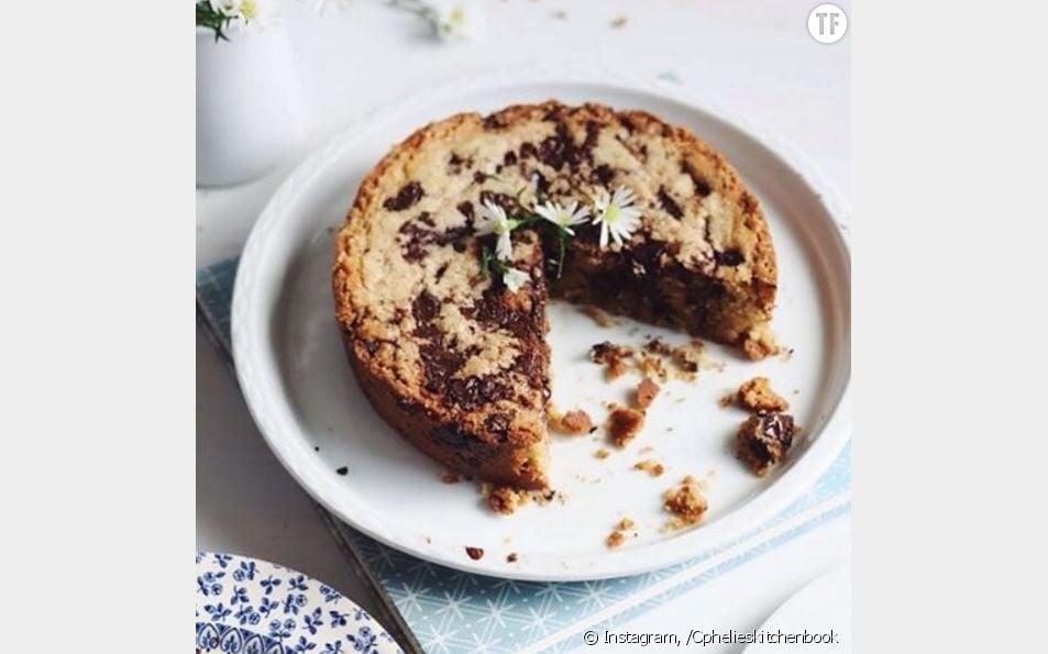 La recette toute simple du Blondie, un gâteau cookie