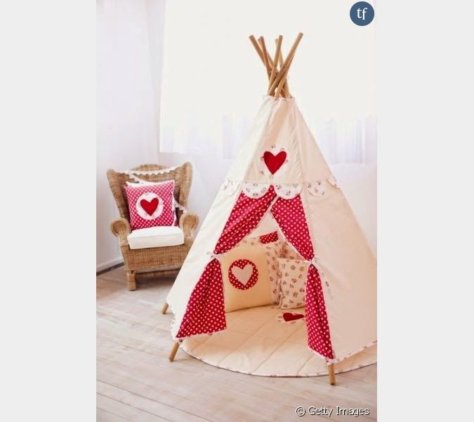 apprenez fabriquer un tipi pour vos enfants. Black Bedroom Furniture Sets. Home Design Ideas