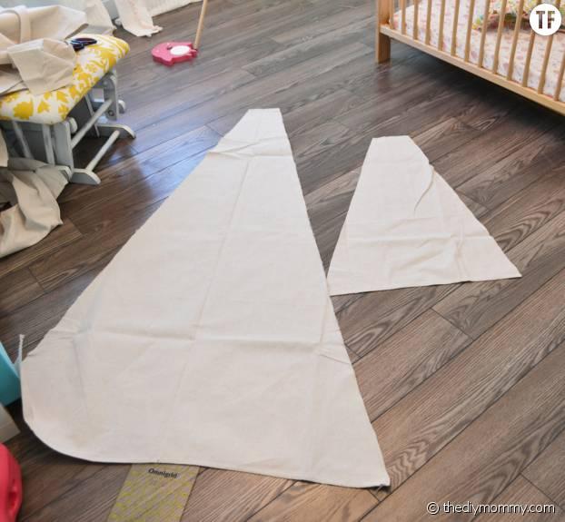 Coupez le tissu