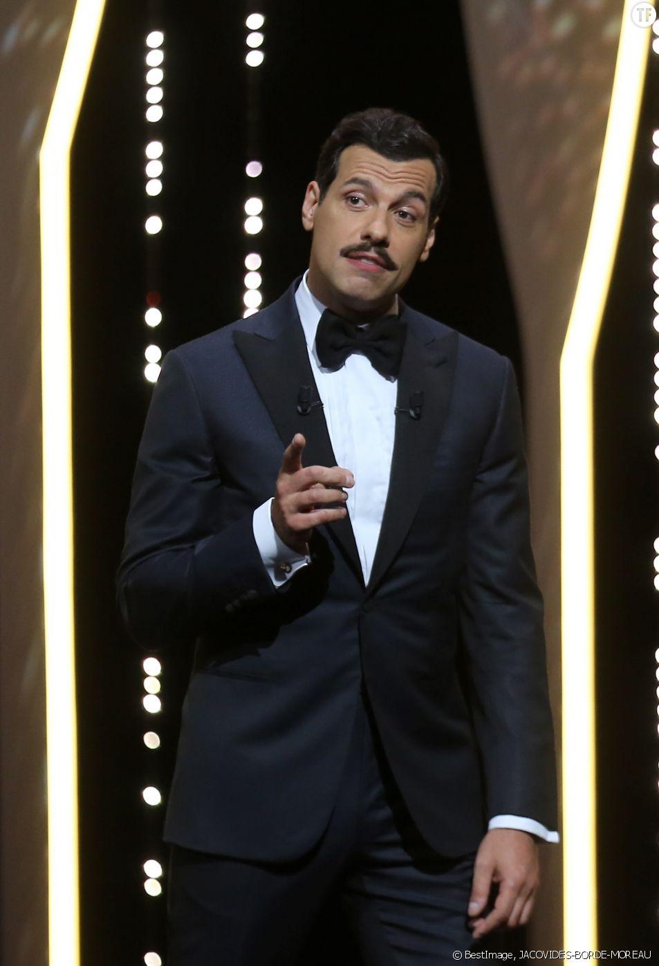 Laurent Lafitte présente la cérémonie d'ouverture du 69ème Festival de Cannes