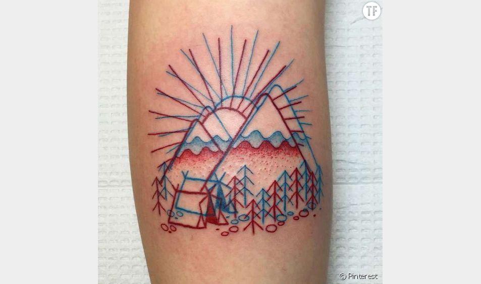 Un tatouage en 3D, ça existe!