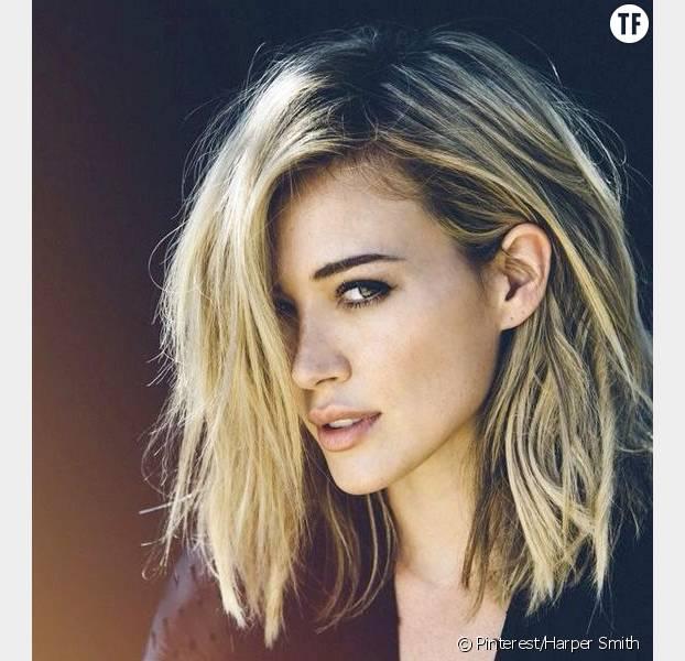 Coupe De Cheveux Pour Mi Long Coiffure Femme Pinterest