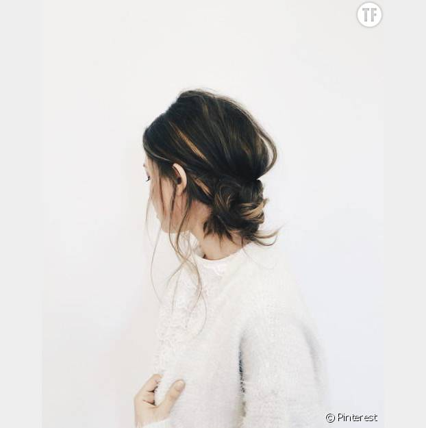 Tendance coiffure : messy bun