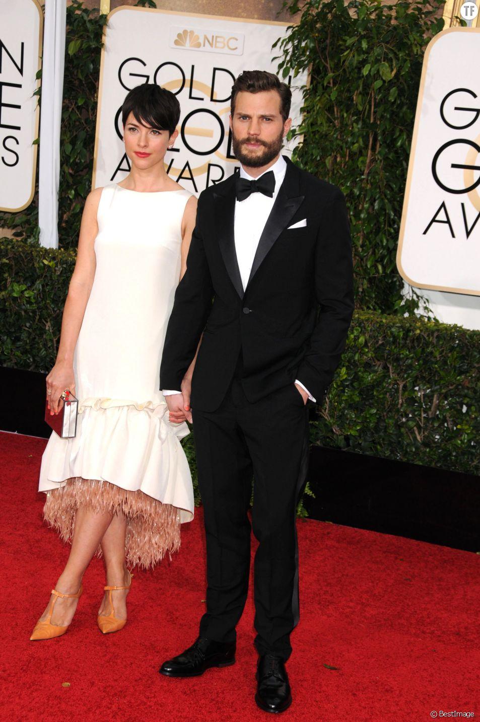 L'acteur Jamie Dornan et sa femme Amelia Warner
