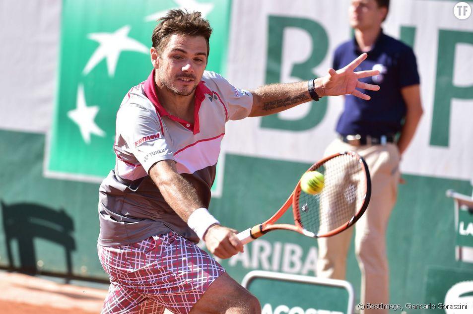 Stanislas Wawrinka, vainqueur de l'édition 2015 du Tournoi de Roland-Garros