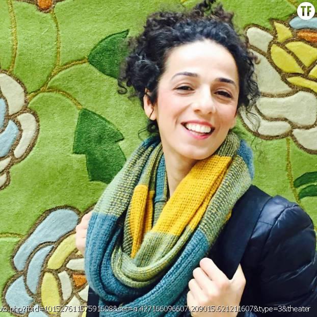 """Masih Alinejad, fondatrice de la page Facebook """"My Stealthy Freedom"""" qui soutient la campagne anti-hijab des femmes en Iran"""