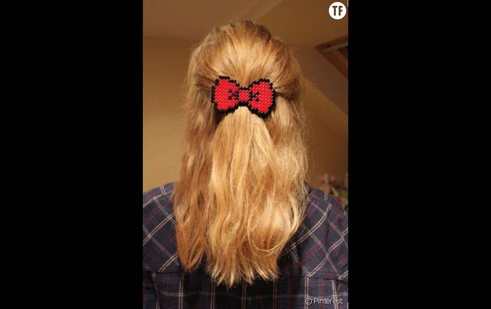 Une barrette à cheveux
