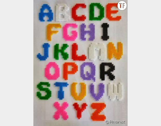 L'alphabet en perles