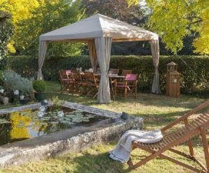 6 jolies idées déco pour ombrager mon jardin avec une tonnelle