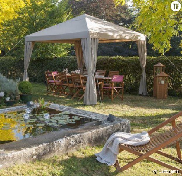 6 jolies id es d co pour ombrager mon jardin avec une tonnelle - Idee deco pour jardin ...