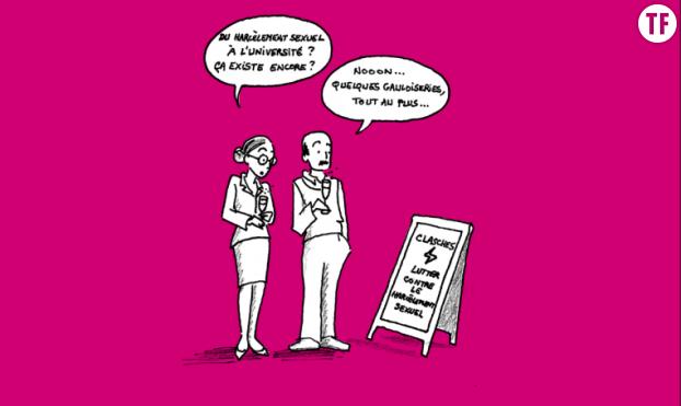 """""""Guide pratique pour s'informer et se défendre"""" : l'association Clasches lutte contre le harcèlement sexuel dans l'enseignement supérieur et la recherche."""