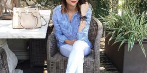15 idées look pour porter le jean blanc avec style
