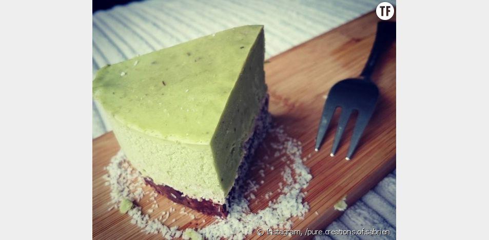 La recette du cheesecake sans cuisson à l'avocat et citron vert