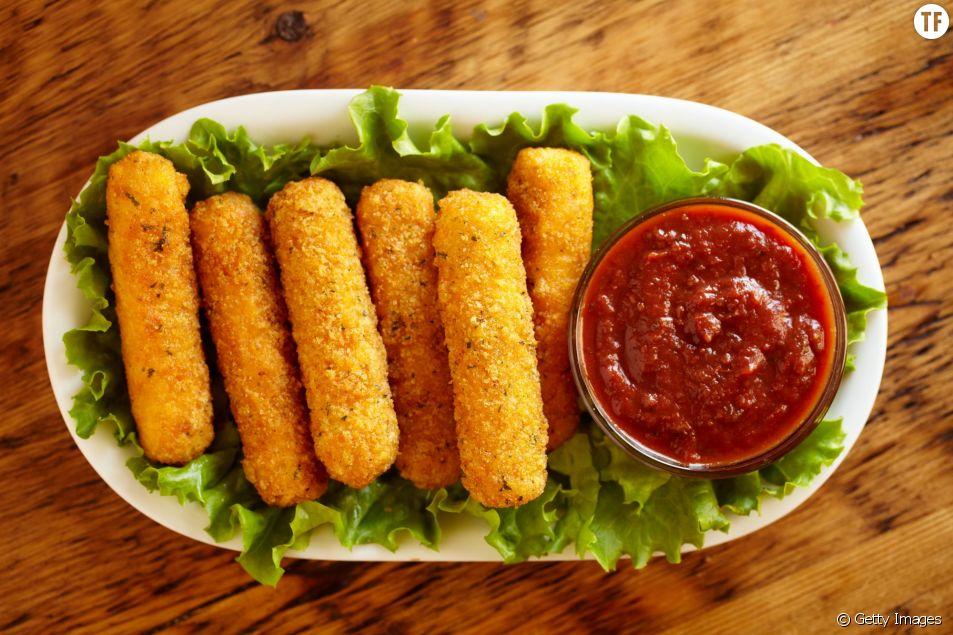 La recette facile et rapide des bâtonnets de mozzarella