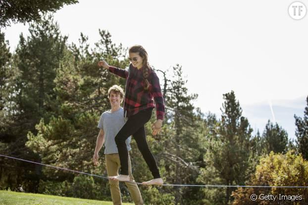 Slackline : un exercice d'équilibre et de confiance