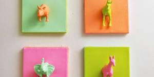 DIY kids : comment fabriquer des cadres animaux