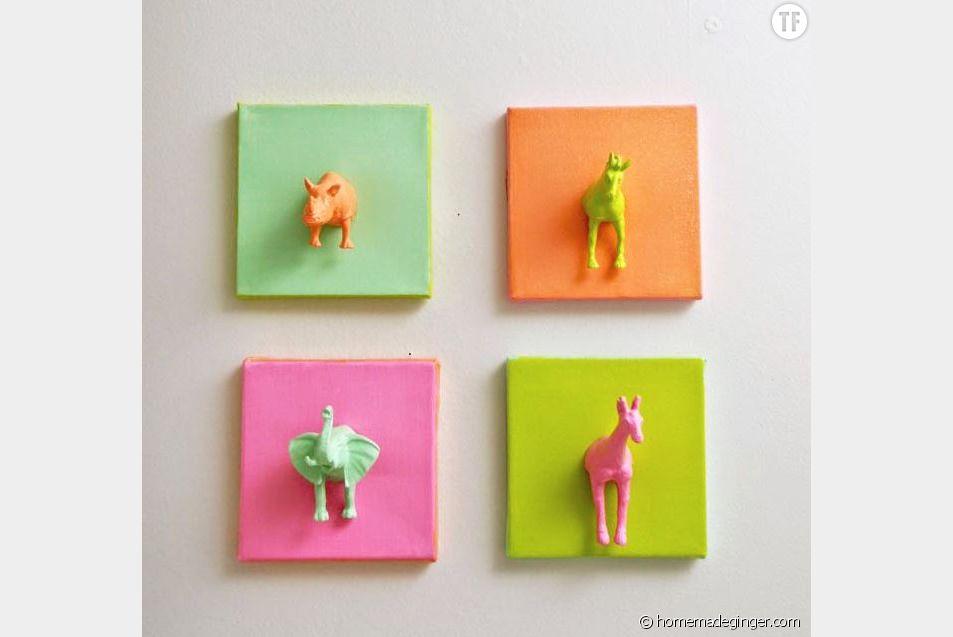 Cadres animaux DIY