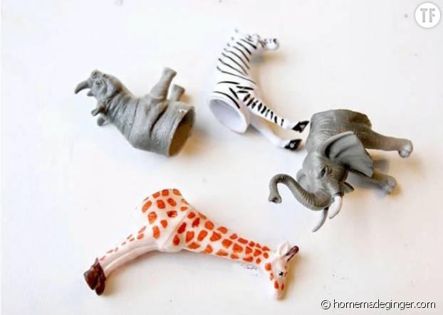 Voici vos animaux découpés