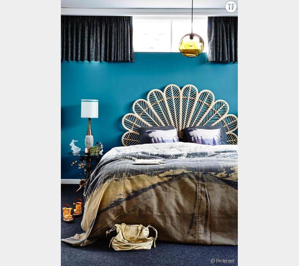Chambre A Coucher Annees 70 10 idées originales de tête de lit repérées sur pinterest