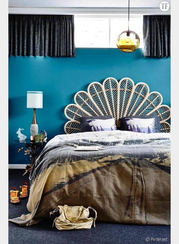 10 idées originales de tête de lit repérées sur Pinterest ...