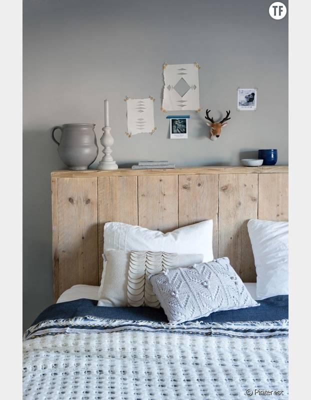 10 id es originales de t te de lit rep r es sur pinterest - Tete de lit nature ...